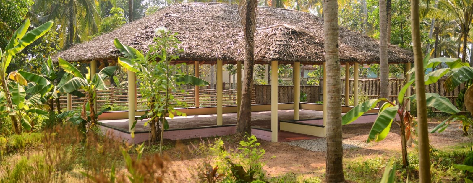 Yoga hall, for asanas, pranayama and meditation varkala