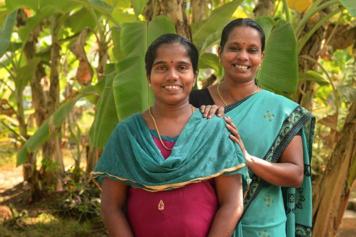 Shiba and Thangi, wonderful staff at Sharanagati Yogahaus